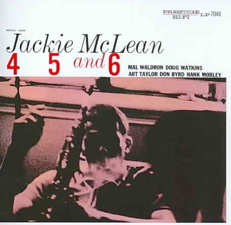 4 5 AND 6 BY MCLEAN,JACKIE (CD)