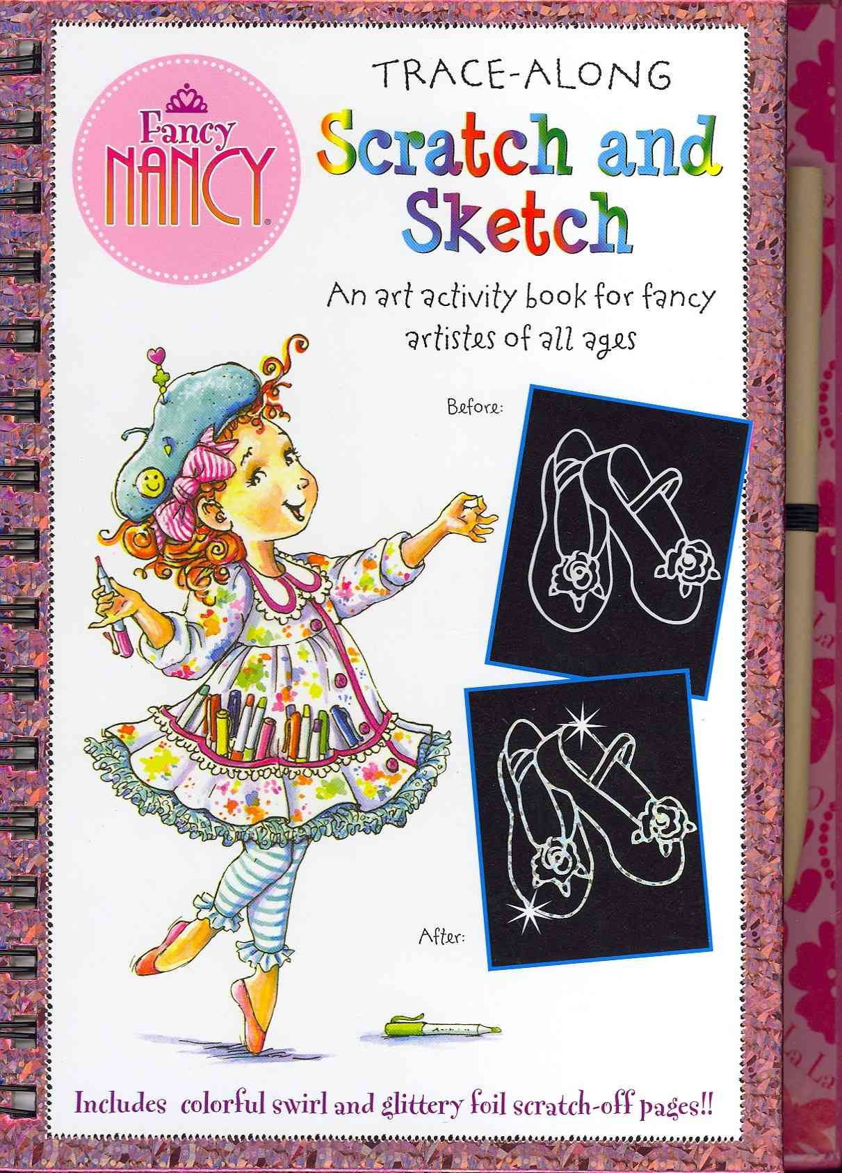 Fancy Nancy Scratch and Sketch By O'Connor, Jane